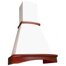 Каминная вытяжка  ELIKOR Ротонда 50 бежевый / бук светло-коричневый