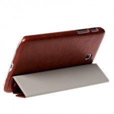 Чехол HOCO Crystal Series Leather Case для Samsung Galaxy Tab 3 7.0 Brown